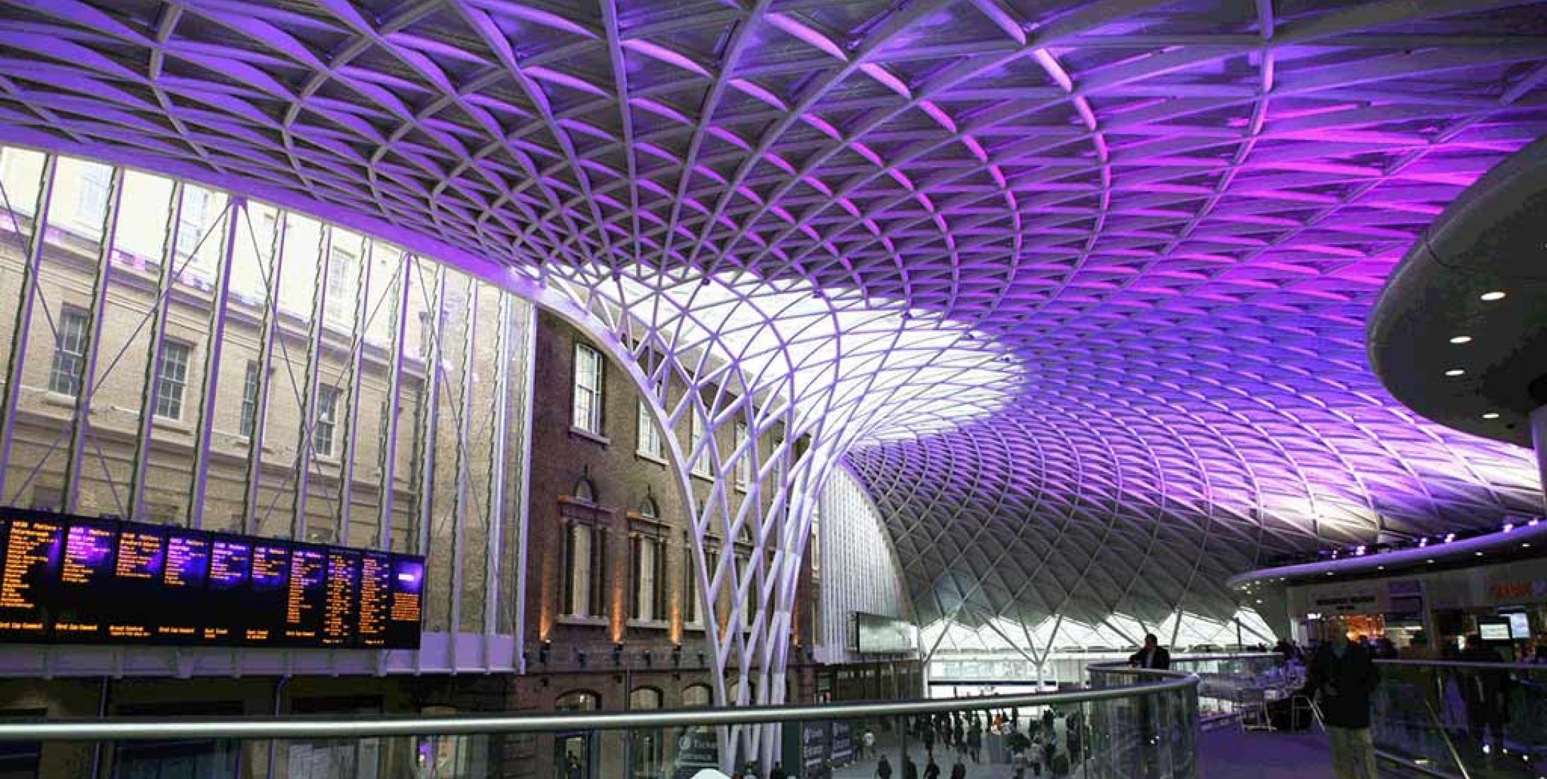 Kings Cross Station - UK   Anolis LED Lighting